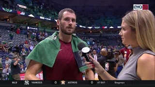 Kevin Love tells Allie Clifton what clicked for Cavs in second half