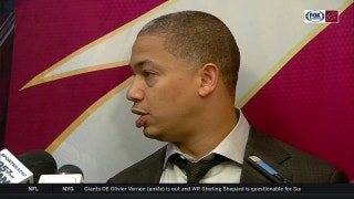 Tyronn Lue: Rose's injury led to extra minutes for LeBron