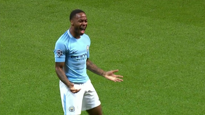 Man City downs Napoli after PK save | 2017-18 UEFA Champions League Highlights