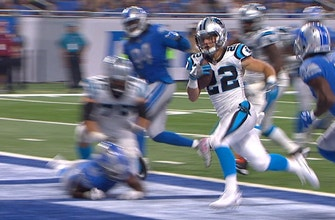 WATCH: Christian McCaffrey score his first NFL touchdown