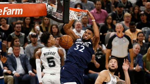Timberwolves show they can take Heat