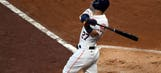 Altuve homers 3 times in Astros' game 1 victory