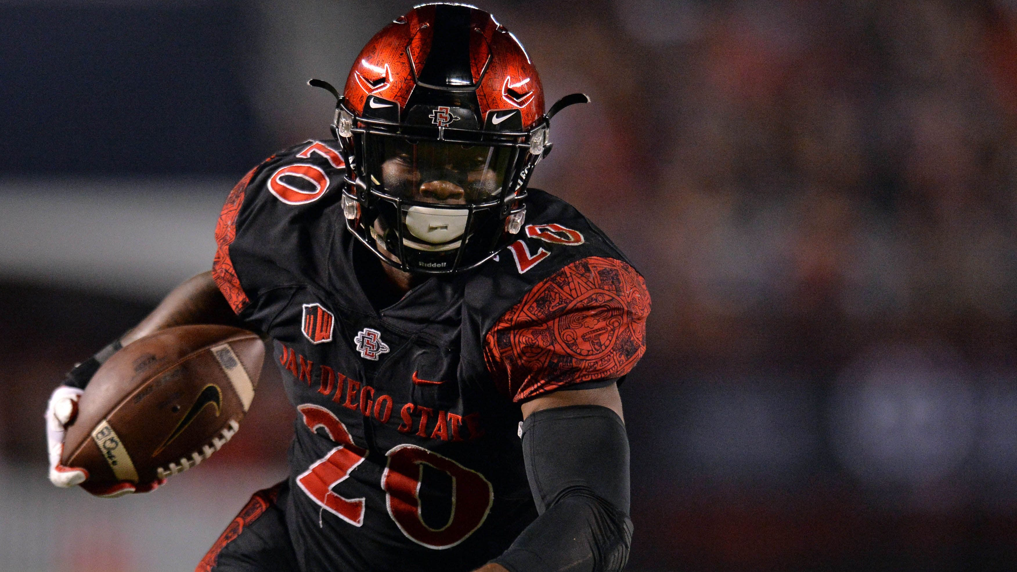 size 40 49183 2afc9 Seahawks draft NCAA rushing leader Rashaad Penny   FOX Sports