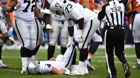 OVERREACTION: The Raiders (2-2) can't win without Derek Carr.