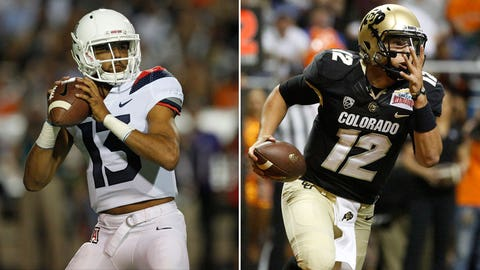 CU Buffs have no answers for Arizona's Khalil Tate
