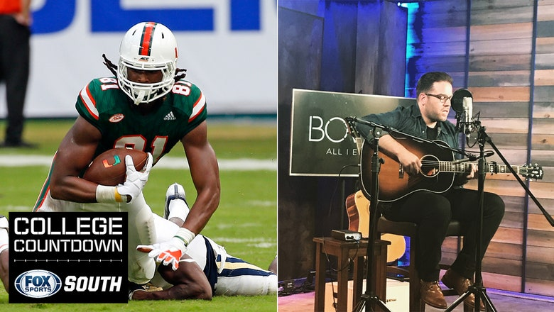College Countdown: Do you believe in the magic of Miami? Country artist Will Bowen picks Week 8 games