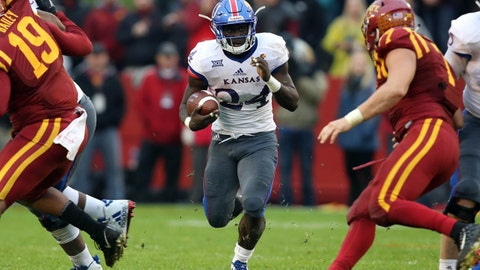 Hill leads No. 4 TCU to rout of Kansas