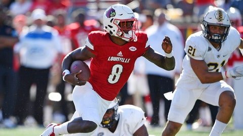 FALL GUYS: Lamar Jackson, QB Louisville