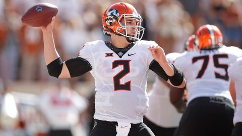 ON THE RISE: Mason Rudolph, Oklahoma State QB
