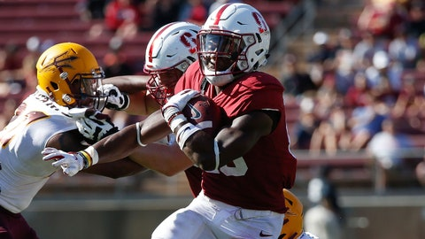 ON THE RISE: Bryce Love, RB Stanford