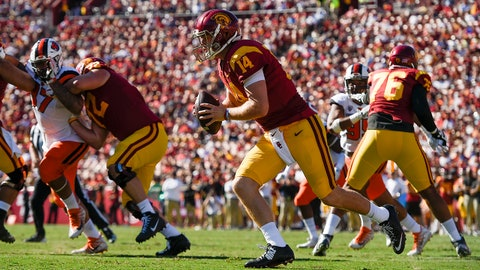 FALL GUYS: Sam Darnold, QB USC