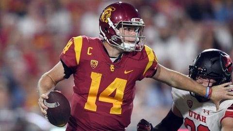 ON THE RISE: Sam Darnold, USC QB