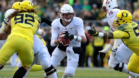 ON THE RISE: Luke Falk, QB Washington State