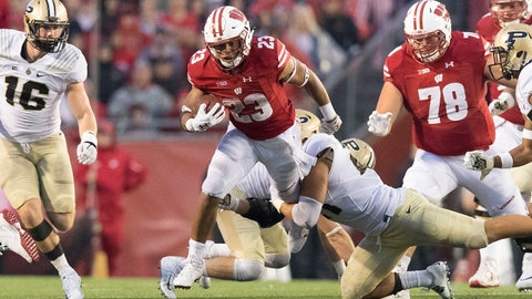 ON THE RISE: Jonathan Taylor, Wisconsin RB
