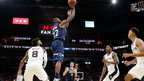 Andrew Wiggins could lead the team in 3s