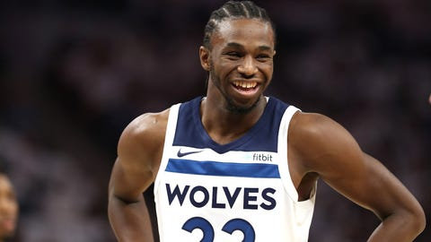 Andrew Wiggins, Wolves forward (↓ DOWN)