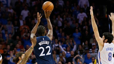 Andrew Wiggins, Wolves forward (↑ UP)