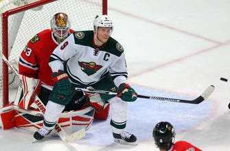 Wild captain Koivu crucial in matchup with rival Blackhawks