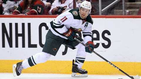 Wild's Parise has back surgery