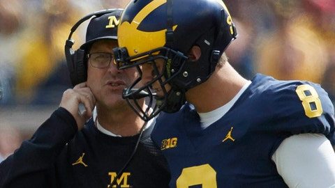 #17 Michigan Wolverines (4-1)