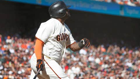 Giants fall to Padres in Cain's finale