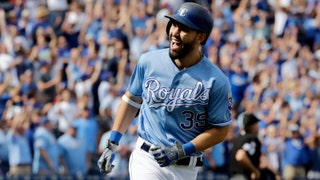 WATCH: Eric Hosmer homers in first inning of Royals' season finale