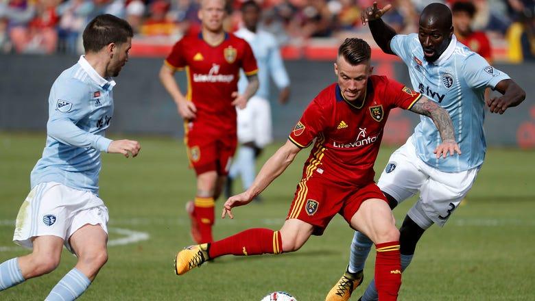 Sporting KC defeated 2-1 by Real Salt Lake in regular-season finale