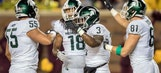 L.J. Scott helps Michigan State run past Minnesota 30-27