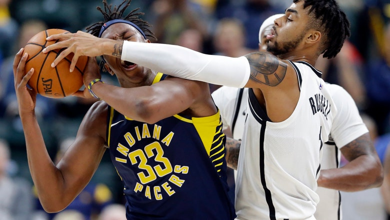 Pacers' Turner out next two games with neck injury, concussion