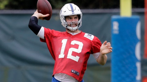 With Luck on mend, Colts get back into AFC South chase