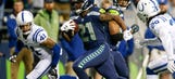 Colts squander halftime lead, fall 46-18 to Seahawks