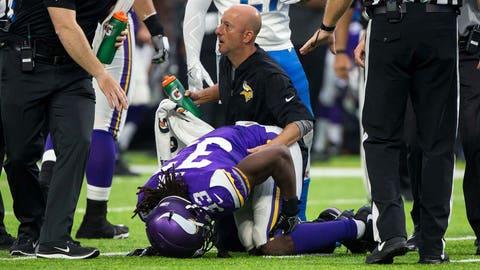 Dalvin Cook, Vikings running back (↓ DOWN)