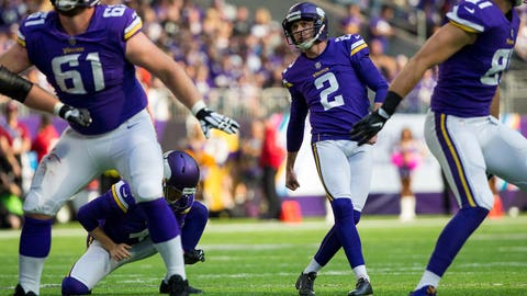 Will Kai Forbath cost the team a game?