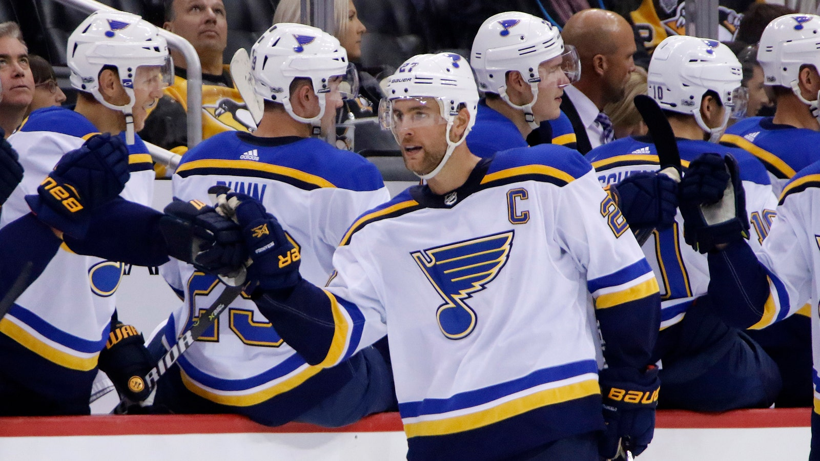 official photos d3857 7b079 Return of the captain: Blues activate Pietrangelo from IR ...