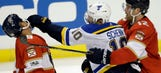 Blues drop first game of the season in 5-2 loss to Panthers
