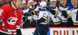 Brayden Schenn on Blues' win over Hurricanes: 'We grinded it out and ended up getting the two points'