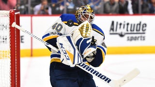 Hutton says Blues put together 'a gutsy performance' against Avalanche