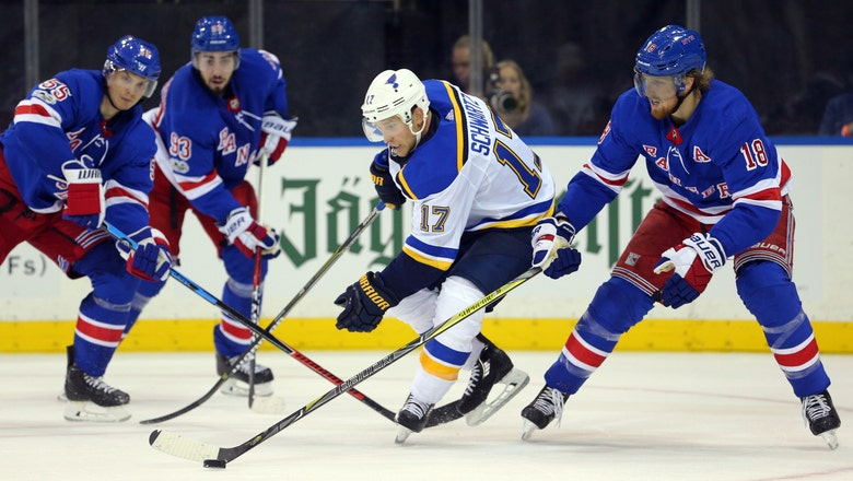Blues desperately need to regain scoring touch against Rangers