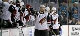 Domingue, Stepan lead Coyotes past Sharks in preseason tilt