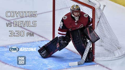 Coyotes defeat Flyers in OT for first win