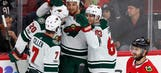Despite injuries, Wild rout Blackhawks on the road