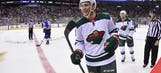 Wild recall forward Luke Kunin from AHL