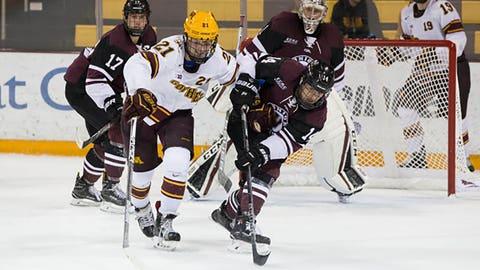 Casey Mittelstadt, Gophers forward (↑ UP)
