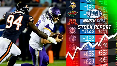 Vikings QB Sam Bradford, WR Stefon Diggs ruled out for Sunday