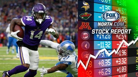 Stefon Diggs, Vikings receiver (↑ UP)