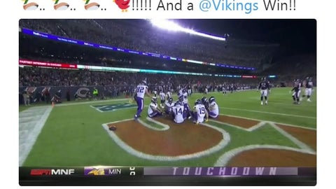Kyle Rudolph, Vikings tight end