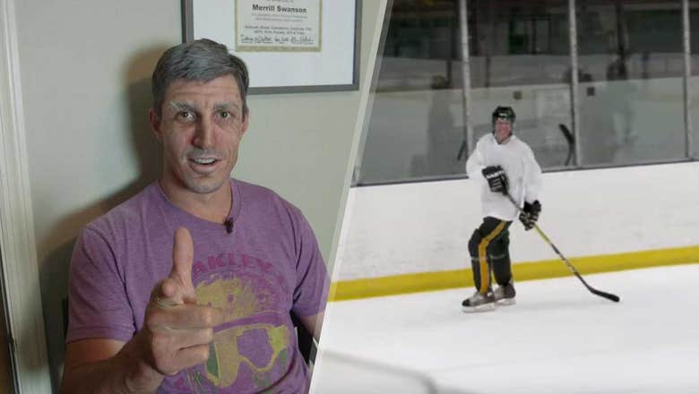 Top Tweets: Retired Wild forward Carter goes undercover for pickup game