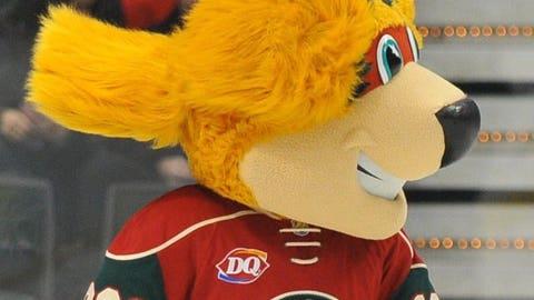 Nordy, Minnesota Wild mascot