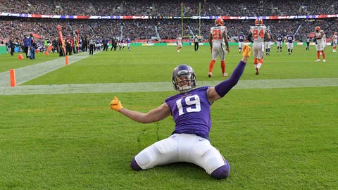 Adam Thielen, Vikings receiver (↑ UP)