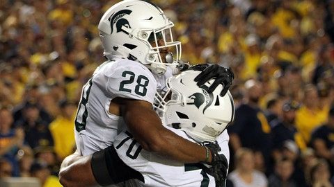 #21 Michigan State Spartans (4-1)